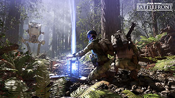 Star Wars: Battlefront - Endor, Kampf mit dem AT-ST