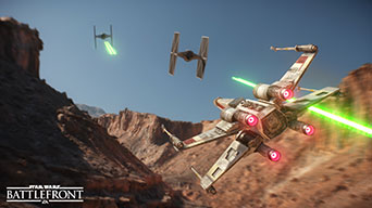 Star Wars: Battlefront - X-Wing vs. TIE-Fighter Dogfight