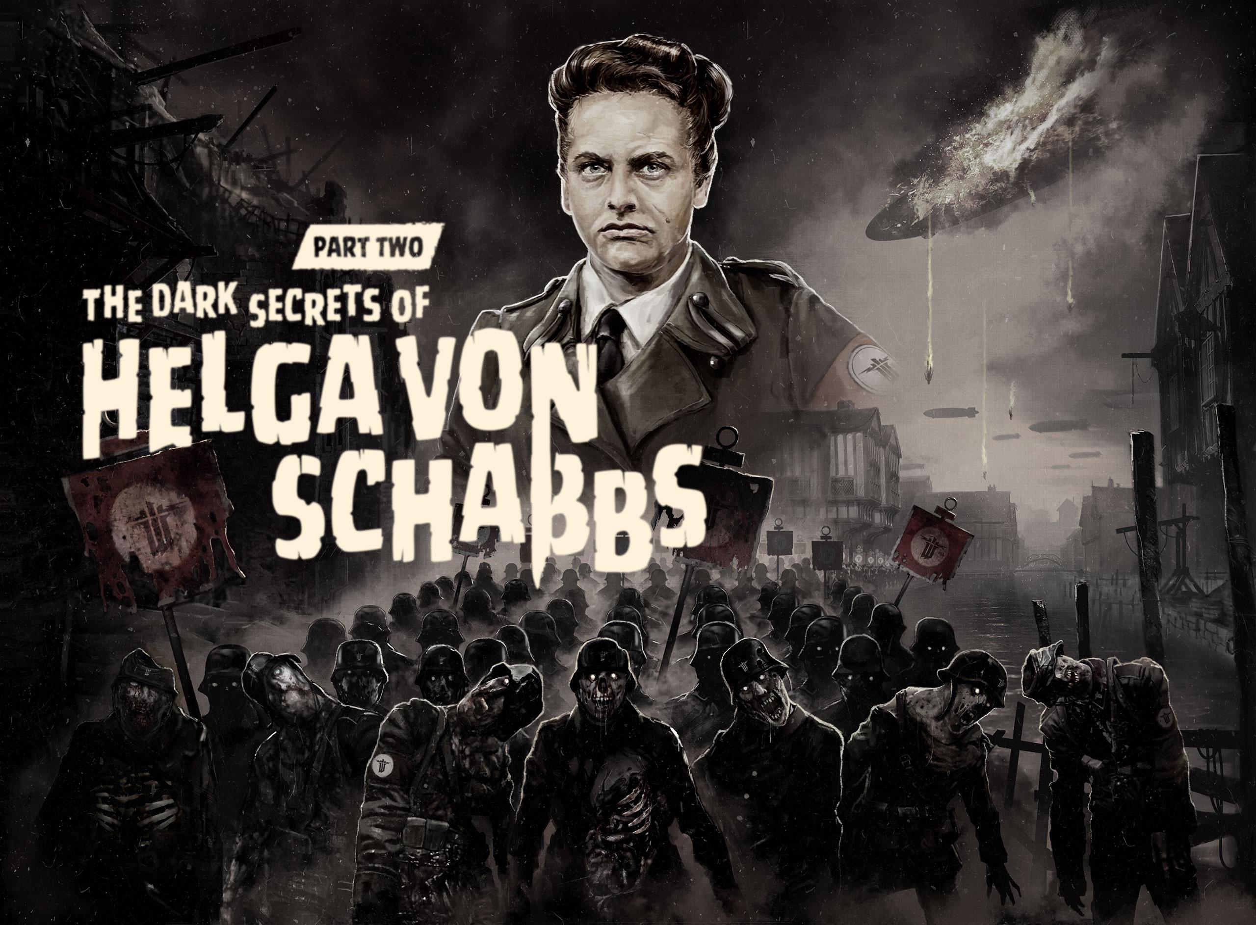 Ganz viele Nazi Zombies mit Helga von Schabbs in Wolfenstein: The Old Blood uncut.