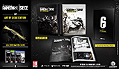 Tom Clancys Rainbow Six: Siege Collectors Edition PEGI AT-Version Inhalte