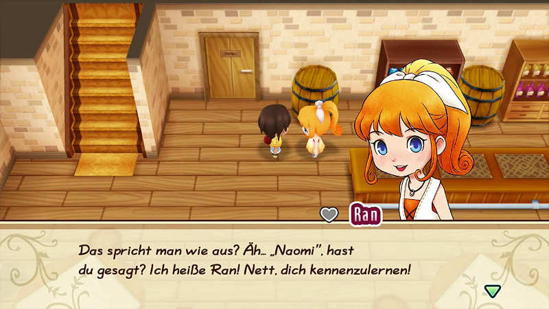 Story of Seasons: Friends of Mineral Town (Switch) - Beschnubern.