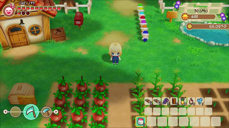 Story of Seasons: Friends of Mineral Town (Switch) - So wirst du schön.