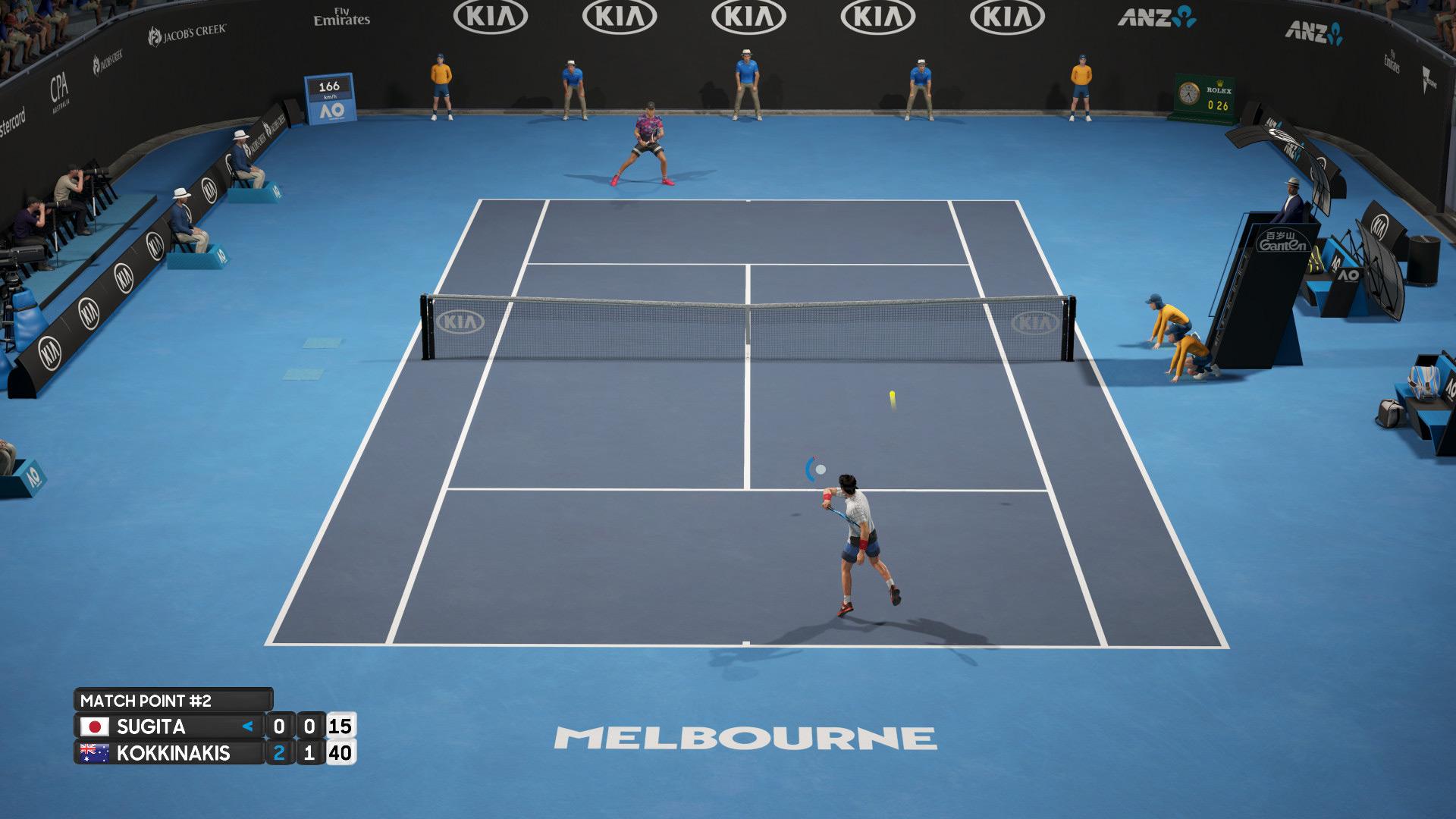 Tennisspiele