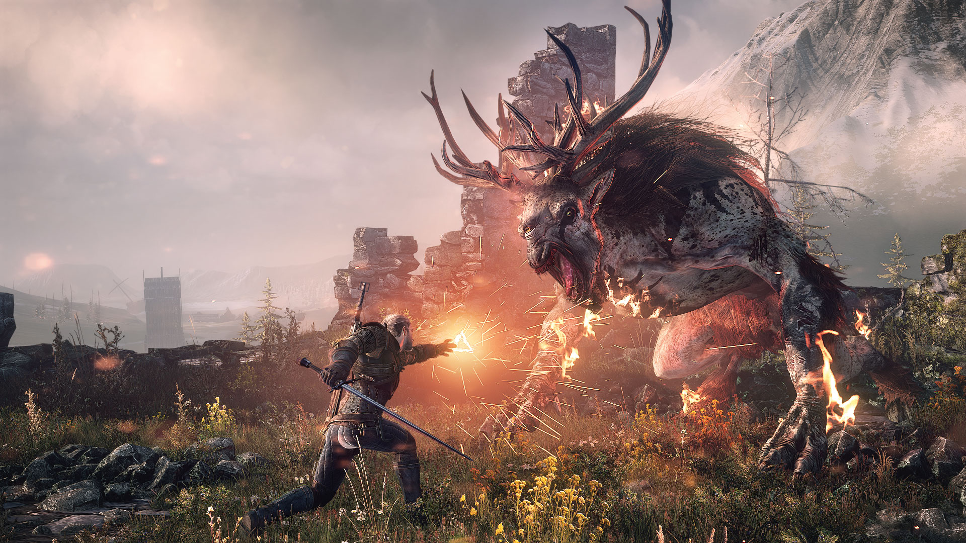 The Witcher 3: Wild Hunt (PS4) - Ihr habt ein Monster Problem?
